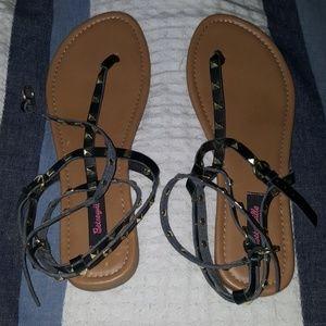 Betseyville for Target Rockstud Sandals Sz 10
